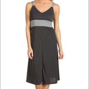 Kuhl Prima dress grey color block